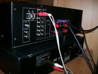 Podłączenie końcówki mocy sharp sx 8800.