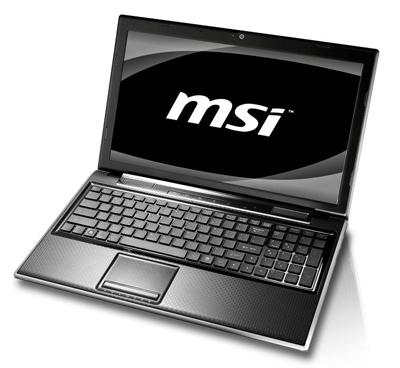 MSI FX600MX laptop 15,6' z techonlogią Optimus