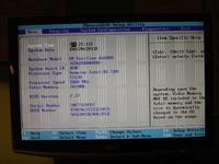 HP Pavilion dv6000 - artefakty w biosie, brak obrazu na matrycy