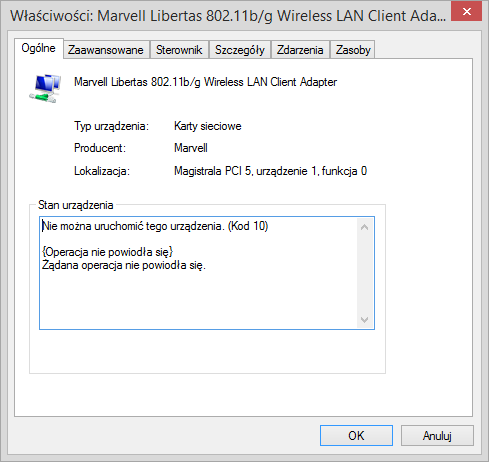 MARVELL LIBERTAS 88W8335 DRIVERS WINDOWS 7