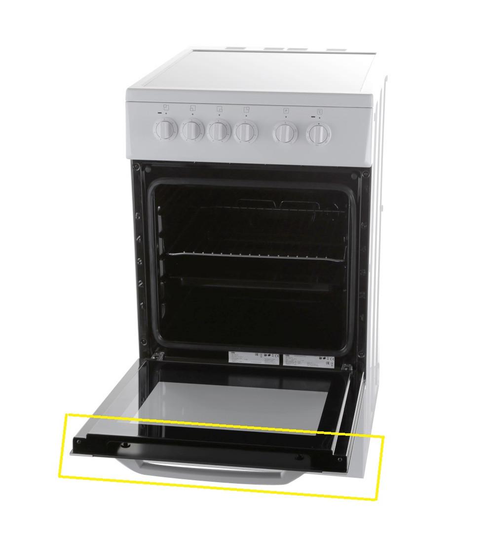 Kuchnia Elektryczna Ceramiczna 50cm Konkretna Budowa Drzwi