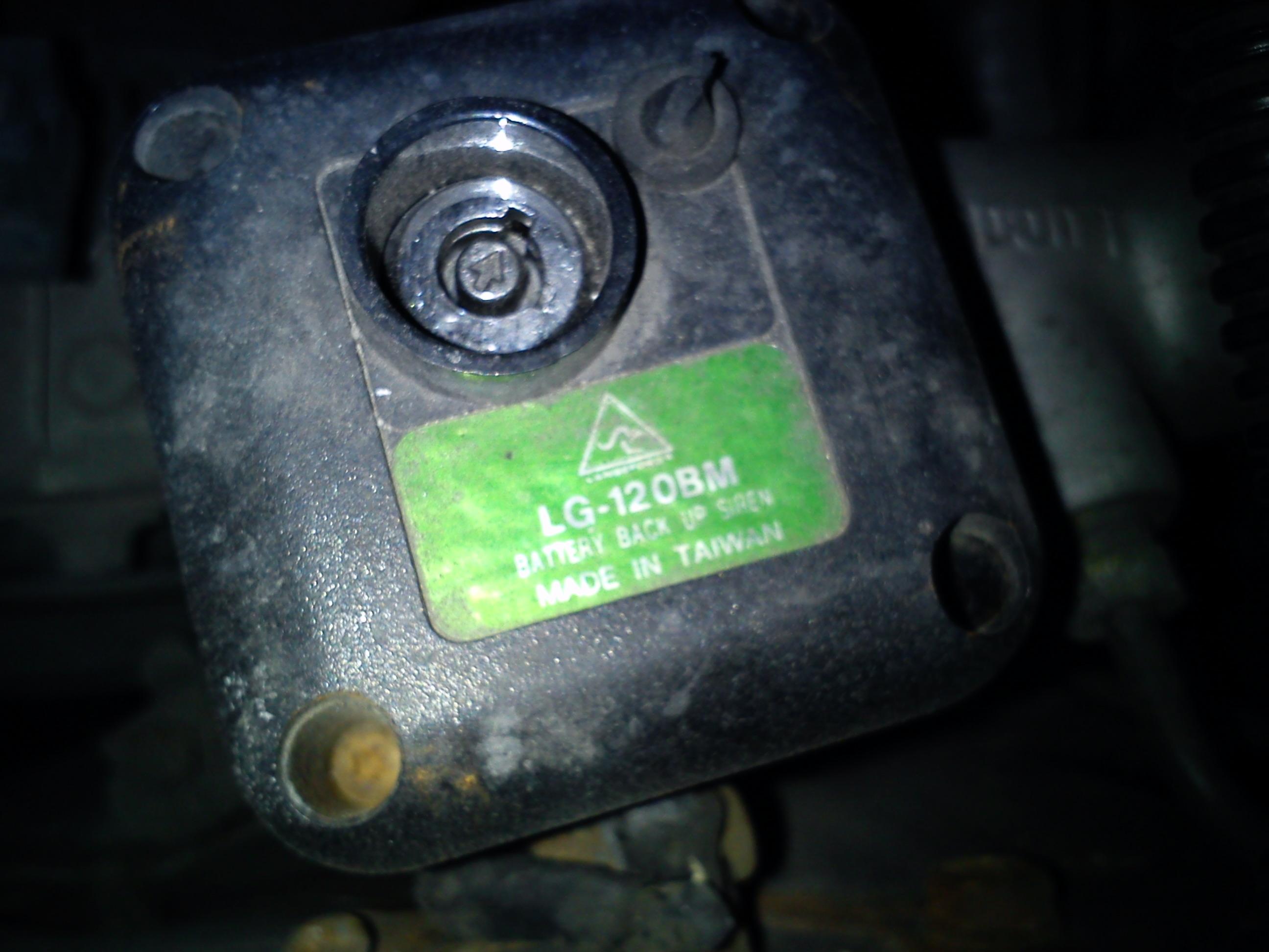 Honda Civic d5 1998r Alarm