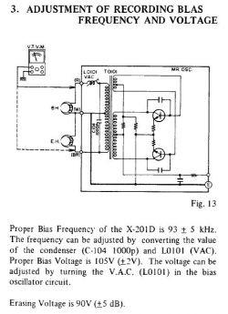 Akai X-201D - Niezgodności pomiarów z dokumentacją, a wszystko działa