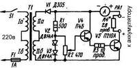 Regulacja prądu ładowania prostownika