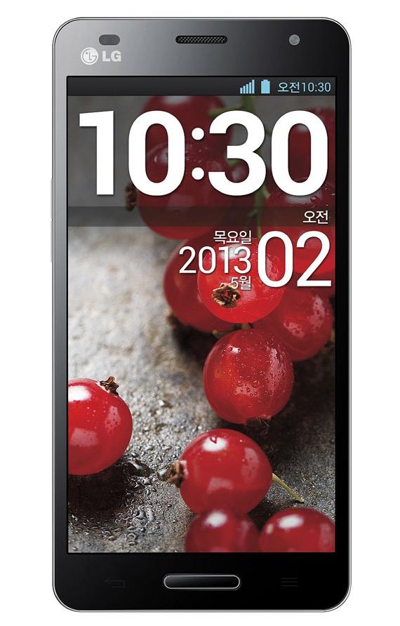 """LG Optimus GK - smartphone z 5"""" ekranem i 4-rdzeniowym procesorem"""