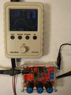 Prosty generator funkcyjny XR2206 do własnego montażu - Made in China - Recenzja