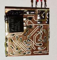 Zabezpieczenie akumulatora żelowego na Attiny13