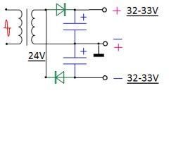 Wzmacniacz na TDA7294 - połączenie...