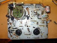 Orion N688R - Synchronizacja mechanizmu, pasy na ekranie
