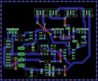 Sprawdzenie PCB w eagle (zasilacz stacji lut)
