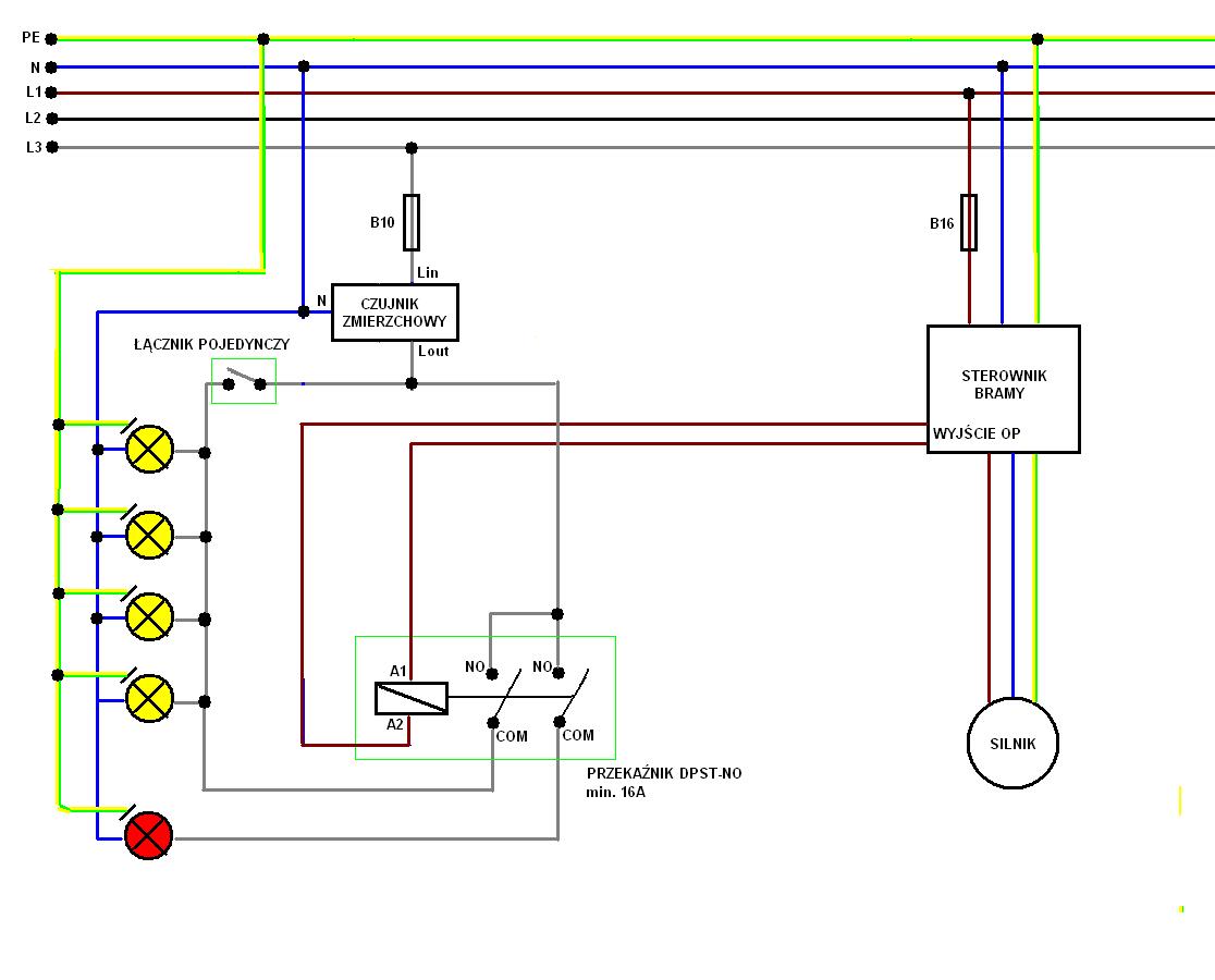 Oświetlenie Podjazdu I Bramy Elektrodapl