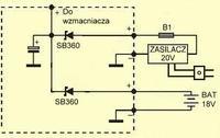 Jak zbudować układ, który automatycznie odcina zasilanie z baterii?