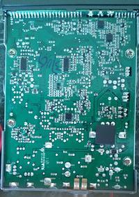 M Tech legend II - Modyfikacje - Potencjometry na p�ycie g��wnej, filtr 455