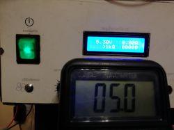 Zasilacz warsztatowy 0-30V / 2mA-3A