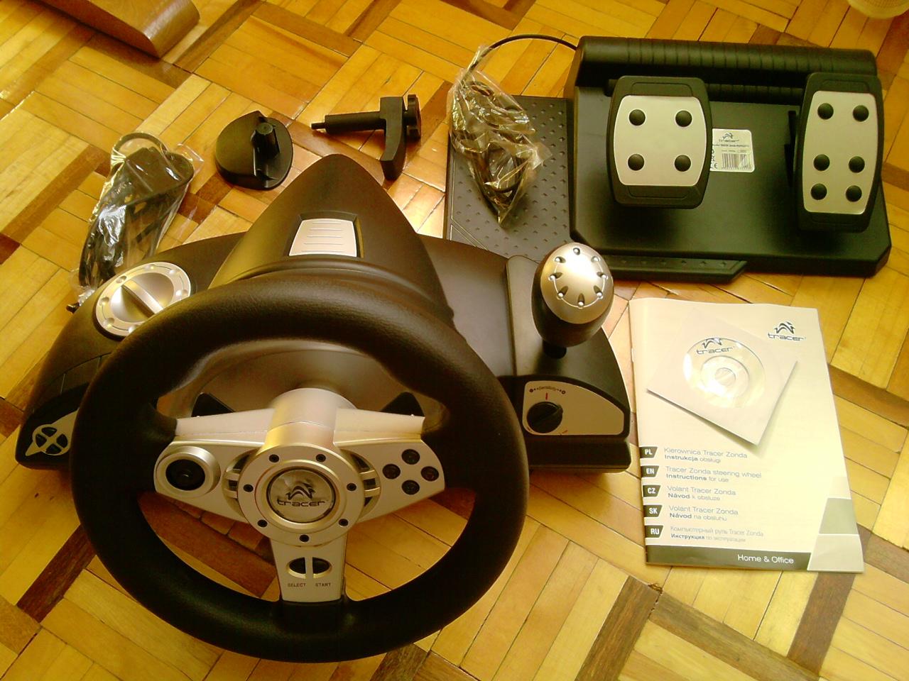 [Sprzedam] kierownice Tracer Zonda PS2,PS3, PC + peda�y