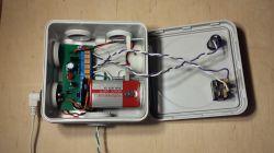 Prosty domowy analogowy alarm