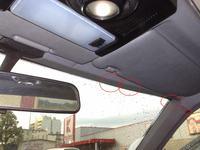 Mercedes W124 Diesel - Przeciekaj�cy dach lub przednia szyba