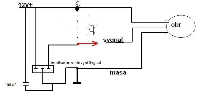 R19 - Sygna� obrotomierza