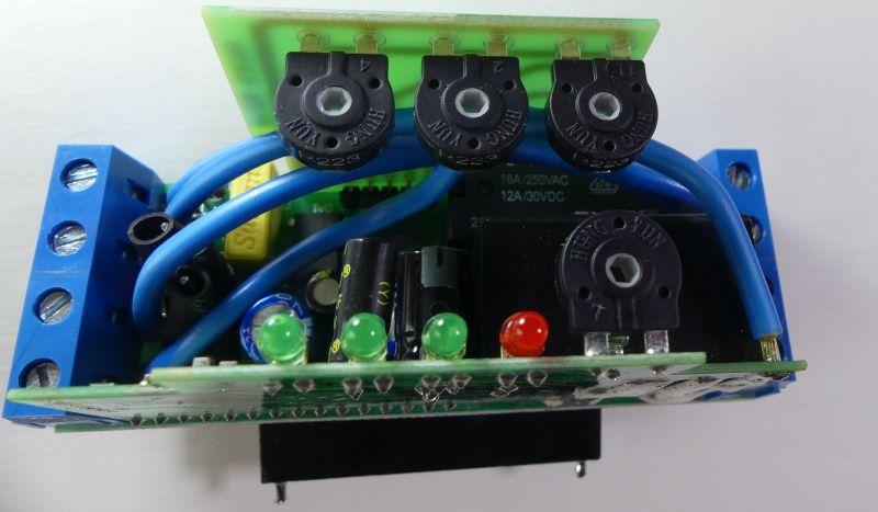 Przełącznik faz PEF-320, przekaźnik czasowy REV-114 Novatek-Electro - testy