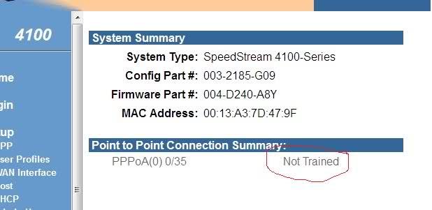 Konfiguracja modemu SpeedStream 4100 pod Neostrade nie wykrywa pol�czenia