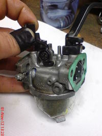 "Generator Honda pracuje tylko na ,,pół"" ssaniu."