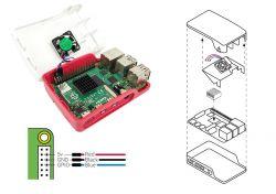 Raspberry Pi 4 Case Fan - wentylator do oficjalnej obudowy Rasbperry Pi 4