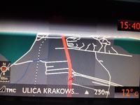 Citroen RNEG - ekran (wyświetlacz) słabo świeci na 1/3 powierzchni