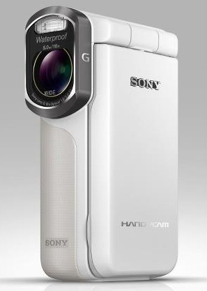 Sony Handycam HDR-GW77 - wzmocniona kieszonkowa kamera Full HD