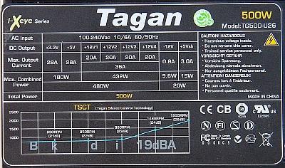 Tagan model: TG500-U26 nie w��cza si�