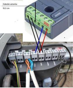 Brama automatyczna Nice i broadlink + Google home