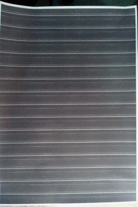 Epson Stylus SX125 - Brudzi papier + białe linie.