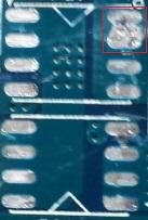 Acer - Ubytek laminatu na p�ycie g��wnej