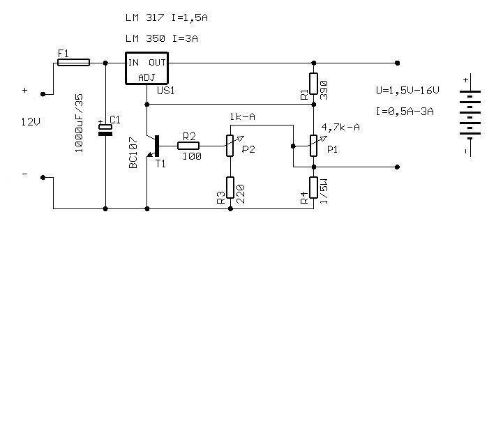 �adowarka LM350 potrzebna porada