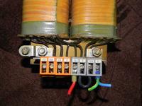 Trafo Bust 1000 - Jak podłączyć transformator 380/220 -> 110 V