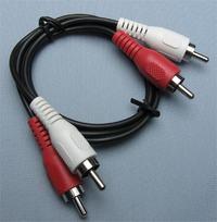 Jak podłaczyć WS442 do tv Samsung LE46M87BD i jakich kabli potrzebuję?