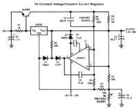 Zasilacz na LM350 z ograniczeniem prądowym - kilka pytań.