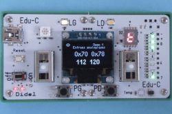 Edu-C - zgodny z Arduino komputer edukacyjny z AVR328 i wyświetlaczem OLED