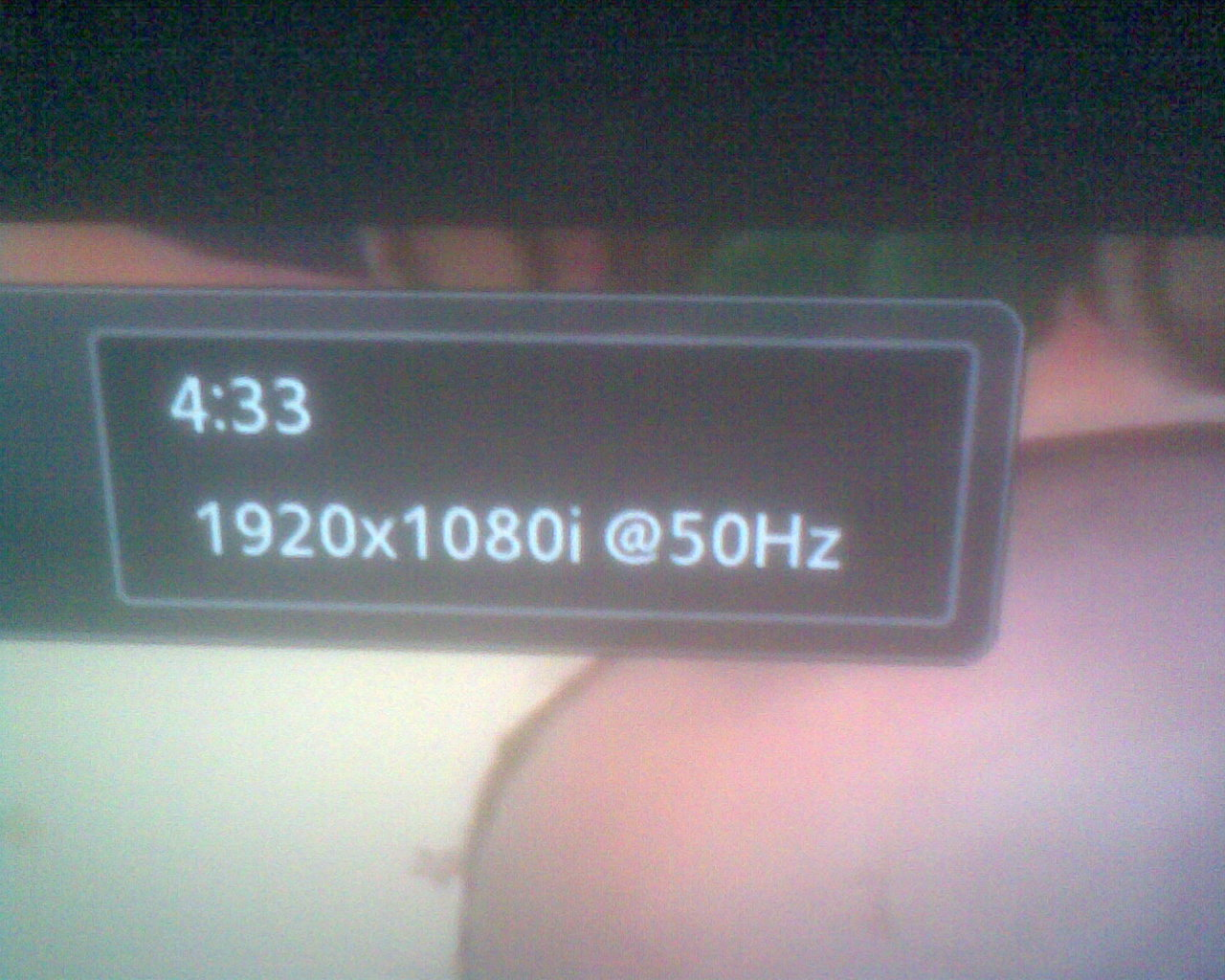 SAMSUNG UE37D5000 - pokazuje tylko 50Hz