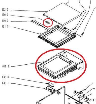 Kupi� g�rn� obudow� pralki Whirlpool AWG 650