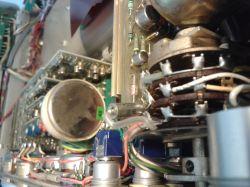 Kondensator w przełączniku.