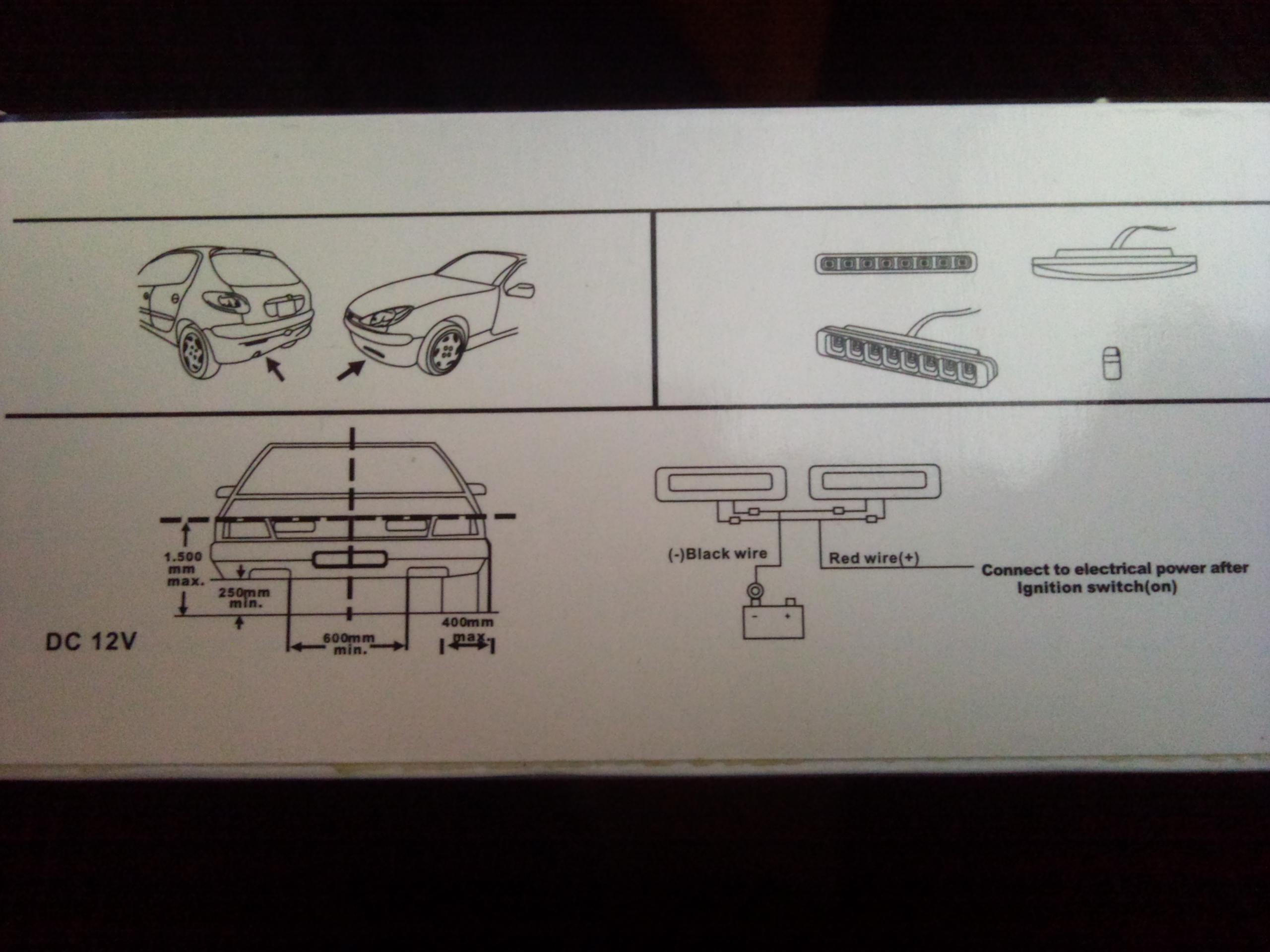 Suzuki Swift mk5 instalacja �wiat�a LED do jazdy dziennej DRL