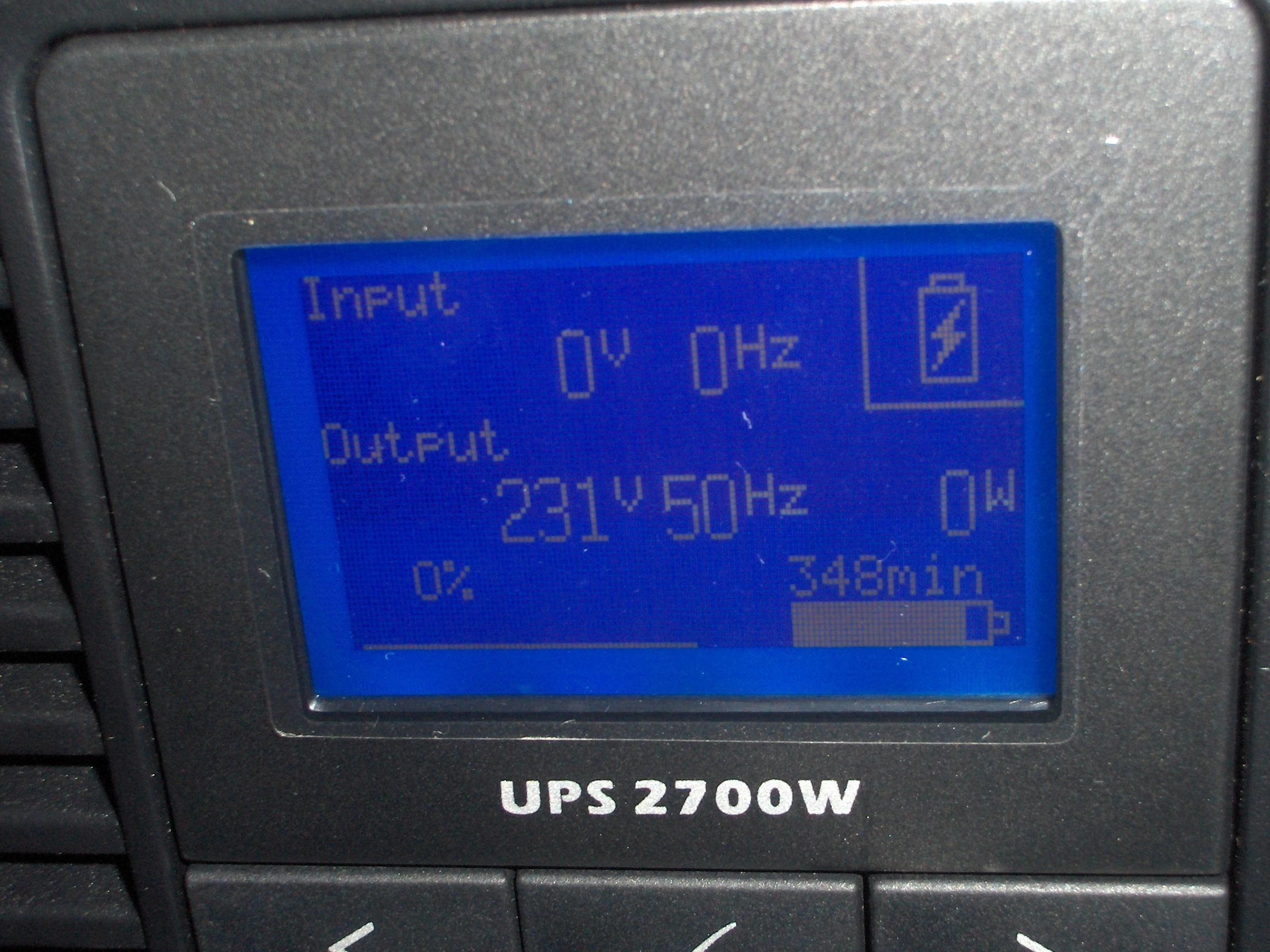 [Sprzedam] UPS DELL J727N 1szt (2700W)