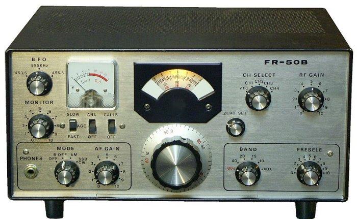 Yaesu FR-50B, FR50B Instrukcja EN