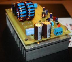 Hybrydowy regulator MPPT do grzałki / akumulatora.