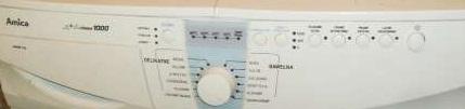 Pralka Amica AWSM 10L  - Nie pobiera wody (prawie)