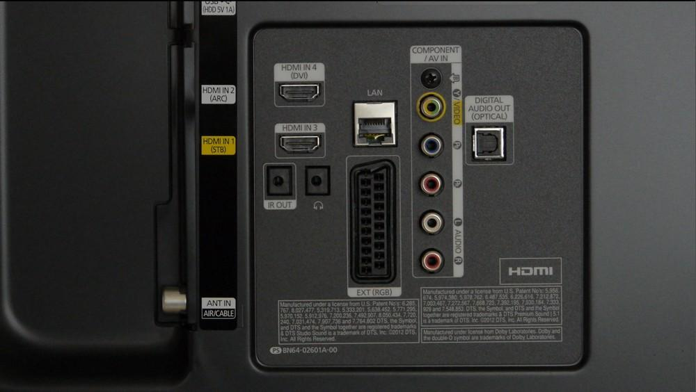 Podłączenie Głośnik 243 W Logitech X 530 Do Samsung 40h6400