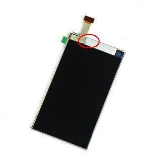 Nokia 5800-paski na wyświetlaczu