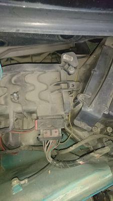 Renault Kangoo 1 Pampa - rezystor dmuchawy nawiewu