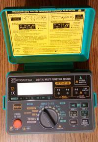 [Sprzedam] KEW 6010B wielofunkcyjny miernik instalacji elektrycznych Kyoritsu
