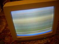 Samsung CVP4237L paski poziome na ekranie